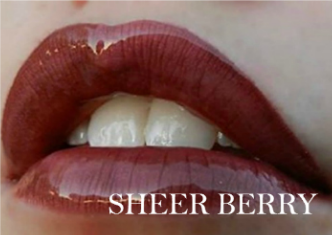 Sheer Berry Lipsense Color