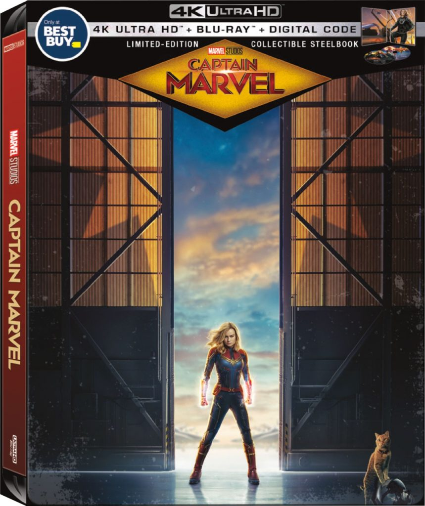 Captain Marvel Exclusive Steel Book Now Available at Best Buy
