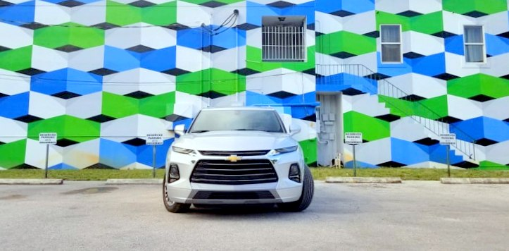Painting the Town with Style in the All-New 2019 Chevy Blazer