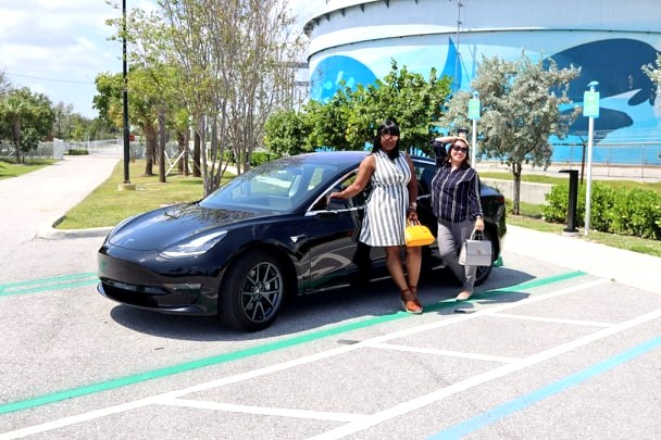 Celebrating National Drive Electric Week w/Tesla and FPL